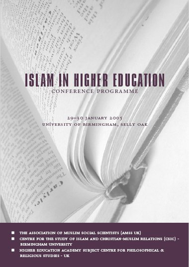 Islam in Higher Education Conference