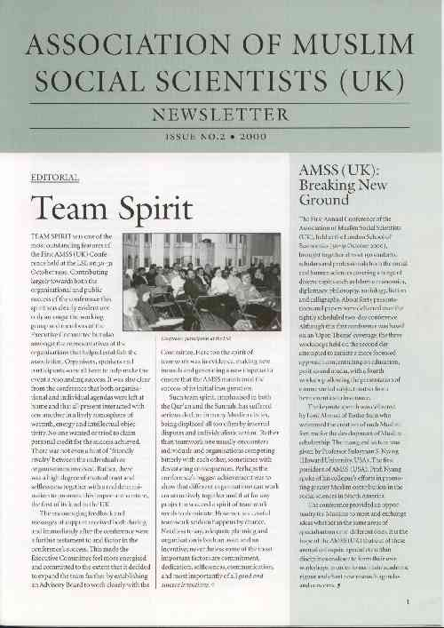 AMSS (UK) Newsletter Issue No. 2 (2000)